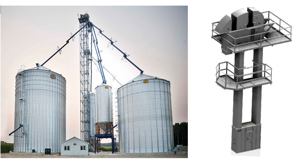 Grain Logistics Solutions - Bucket Elevators