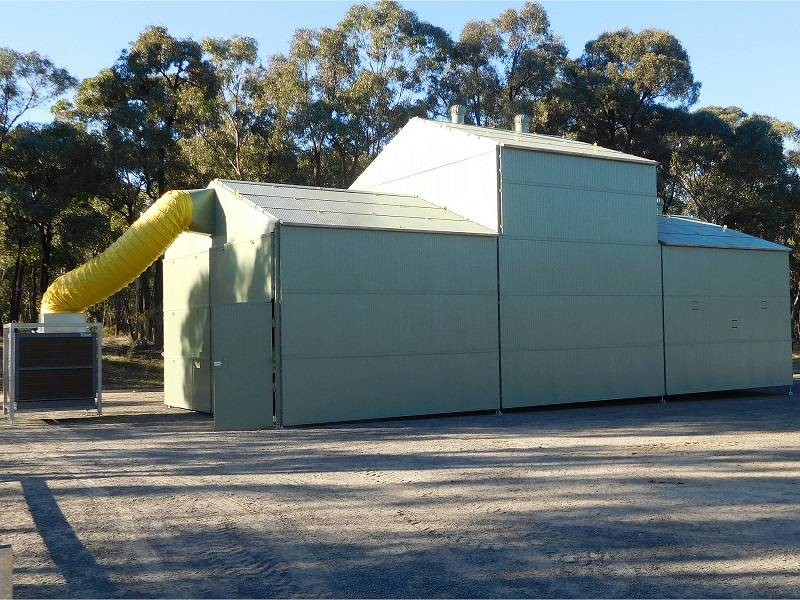 Relocatable Acoustic Enclosure