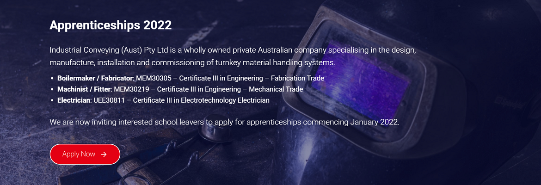 2022 Apprenticeship Application